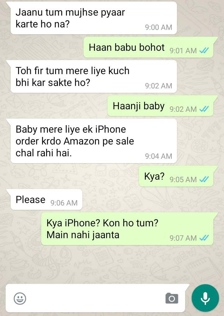 These 8 WhatsApp Chats Will Make You Go Laugh Like Crazy ... |Funny Whatsapp Chats
